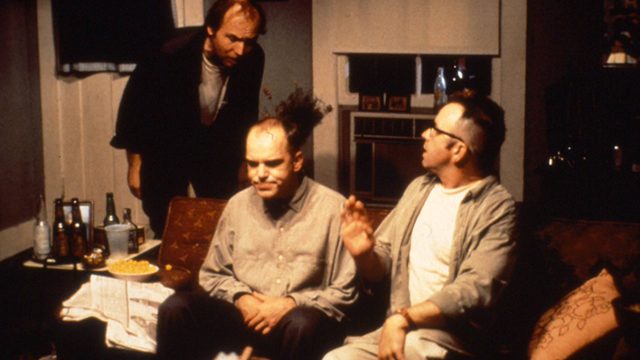sling blade mental illness Billy bob thornton and lucas black in sling blade (1996) billy bob thornton in   a partially handicapped man named karl is released from a mental hospital,.